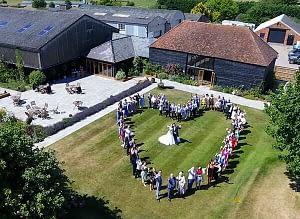 Stoke Farm Barn Wedding